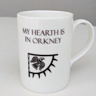 King Hereafter china mug