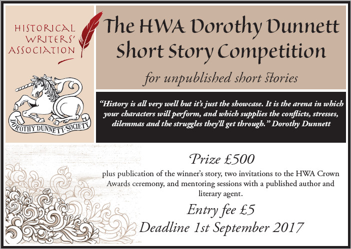 HWA Dorothy Dunnett Short Story Competition
